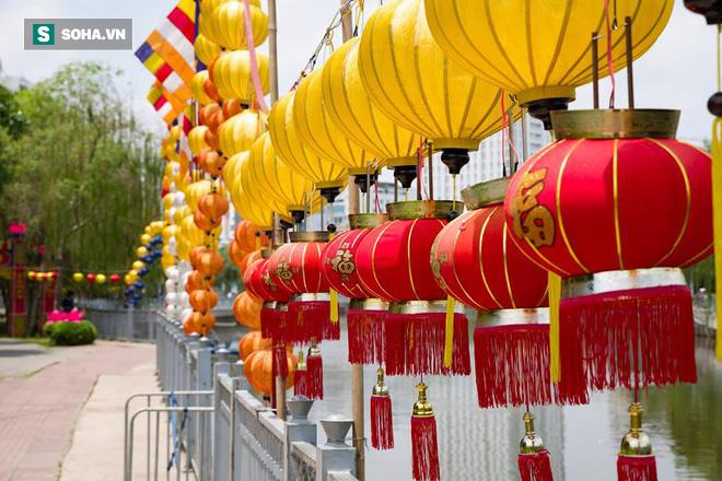 Sài Gòn rực rỡ mừng Đại lễ Phật Đản 2017 - Ảnh 8.