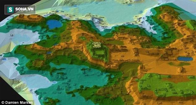 Khai quật mộ vua Maya 1.000 năm tuổi trong thành phố cổ, phát hiện điều kỳ quái - Ảnh 3.