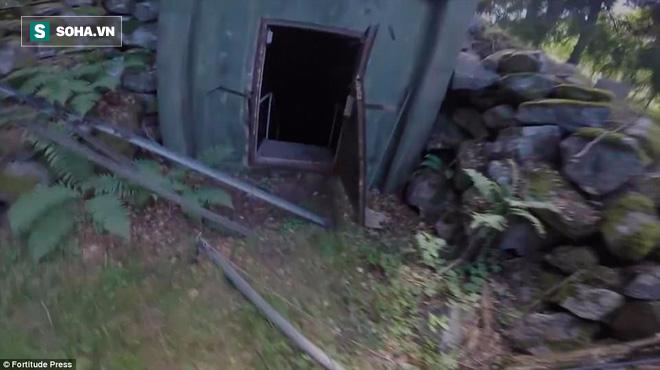 Thâm nhập căn hầm bị bỏ hoang giữa rừng sâu: Nhóm thám hiểm chỉ dám vào 3 phút - Ảnh 1.