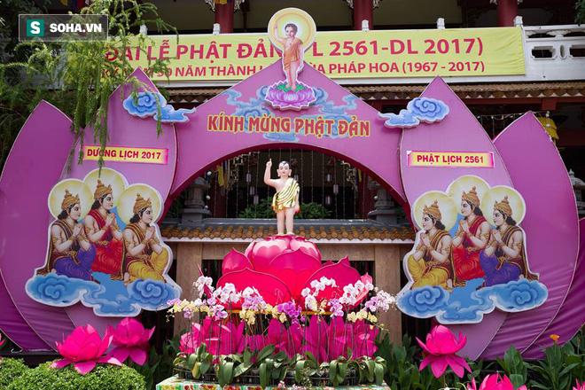 Sài Gòn rực rỡ mừng Đại lễ Phật Đản 2017 - Ảnh 9.