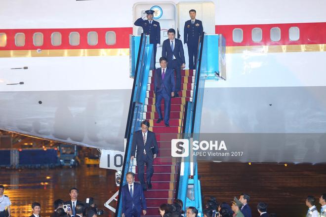 Chuyên cơ Air Force One Nhật Bản đưa thủ tướng Shinzo Abe đến Đà Nẵng tham dự APEC - Ảnh 2.