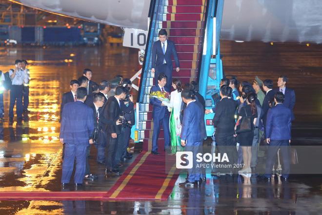 Chuyên cơ Air Force One Nhật Bản đưa thủ tướng Shinzo Abe đến Đà Nẵng tham dự APEC - Ảnh 3.