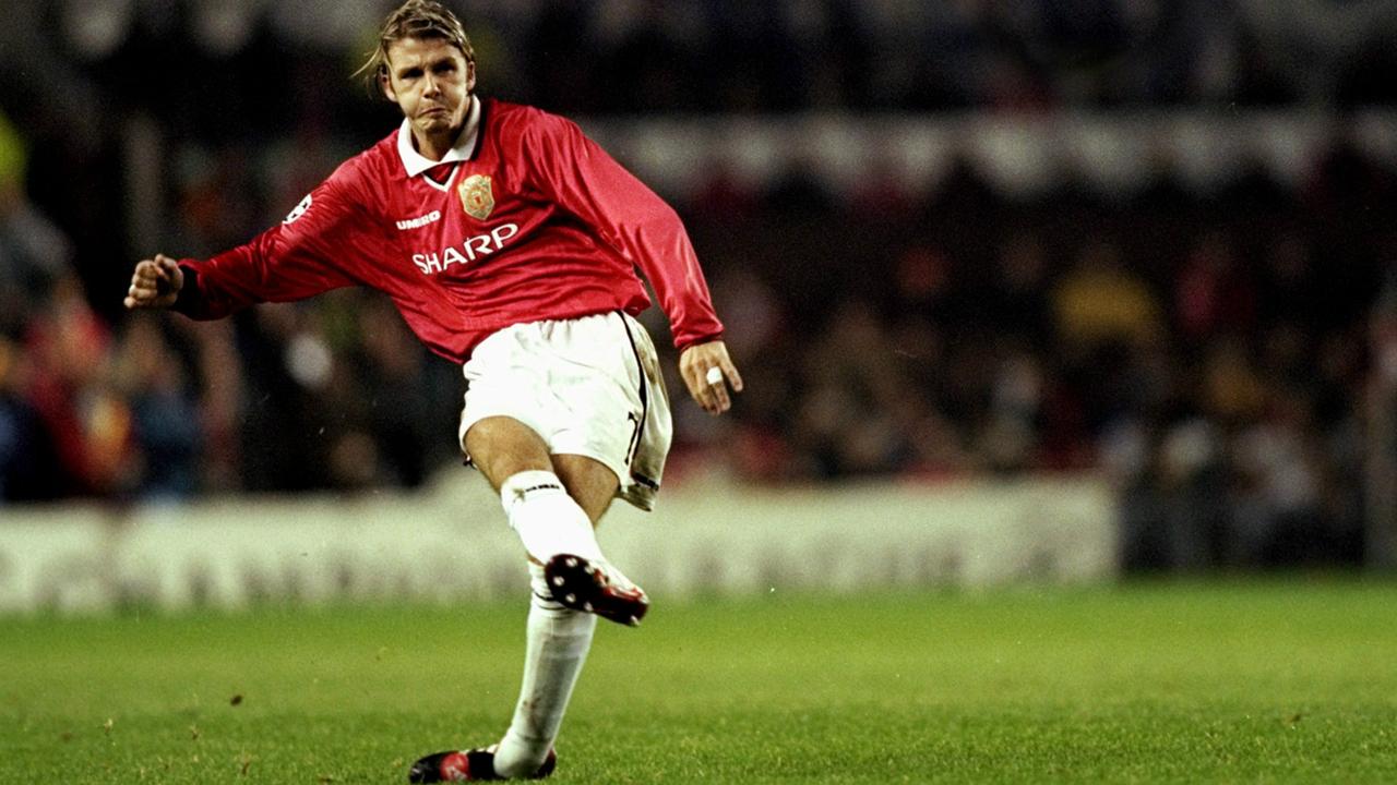 7 khoảnh khắc ấn tượng nhất của David Beckham tại Manchester United
