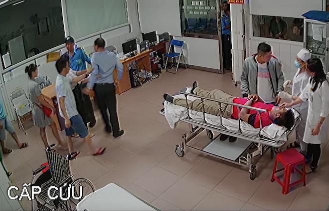 Chủ tịch phường nói lý do xuất hiện trong đoạn video đánh bác sỹ ở bệnh viện - Ảnh 2.