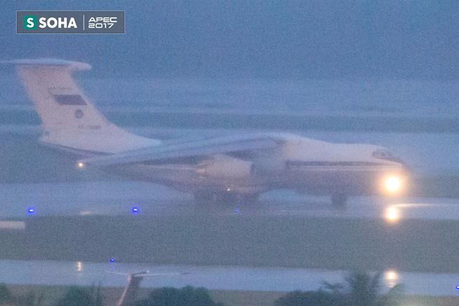 Ngựa thồ IL-76 của đoàn tiền trạm Tổng thống Nga đã đáp xuống Đà Nẵng - Ảnh 6.