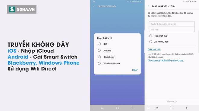 Công cụ giúp chuyển dữ liệu từ điện thoại khác sang Galaxy S8 chỉ trong 1 nốt nhạc - Ảnh 1.