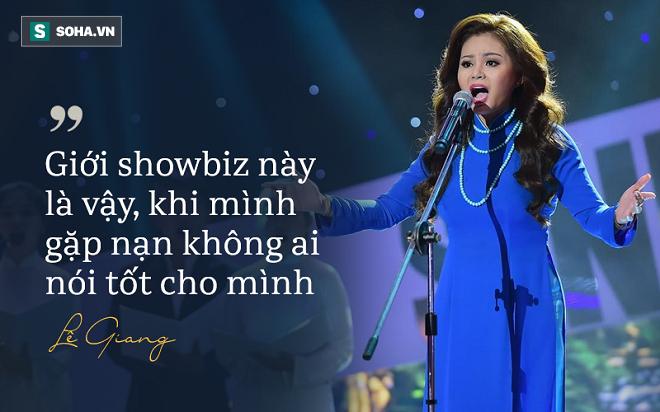 Nghệ sĩ Lê Giang: Giới showbiz là vậy, khi gặp nạn, không ai nói tốt cho mình - Ảnh 2.