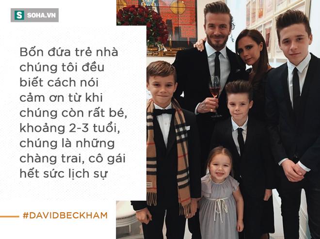 Cách vợ chồng Beck - Vic dạy con: Có cha mẹ giàu có nhưng vẫn phải đi rửa chén bát thuê - Ảnh 3.