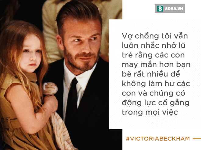 Cách vợ chồng Beck - Vic dạy con: Có cha mẹ giàu có nhưng vẫn phải đi rửa chén bát thuê - Ảnh 4.