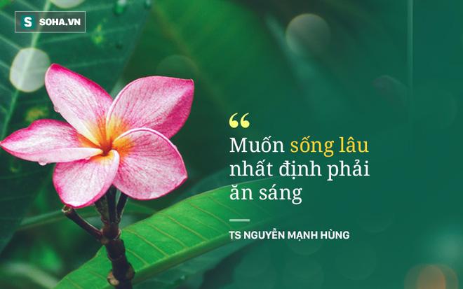 TS Nguyễn Mạnh Hùng: Rất nhiều người đang ngủ sai giờ. Họ không biết đường tới nghĩa địa dần ngắn lại - Ảnh 6.