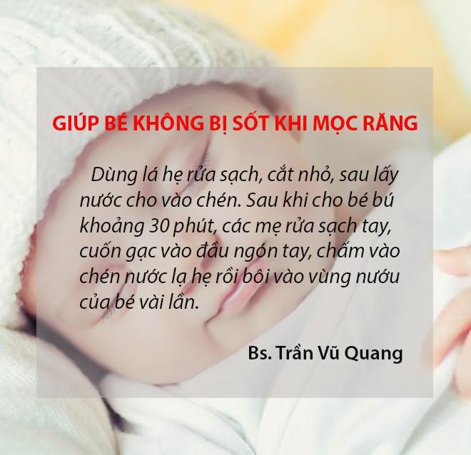 Bác sĩ sản khoa mách 11 mẹo dân gian cực mẹ nào chăm con nhỏ cũng cần biết - Ảnh 4.
