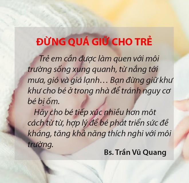 Bác sĩ sản khoa mách 11 mẹo dân gian cực mẹ nào chăm con nhỏ cũng cần biết - Ảnh 6.