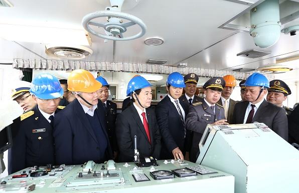Hình ảnh tàu kiểm ngư hiện đại Nhật Bản vừa trao tặng Việt Nam - Ảnh 6.