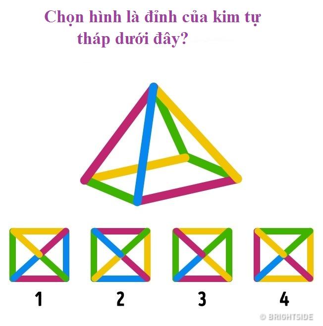 Giải được câu đố logic này sẽ giúp kích hoạt trí thông minh của bạn! - Ảnh 2.