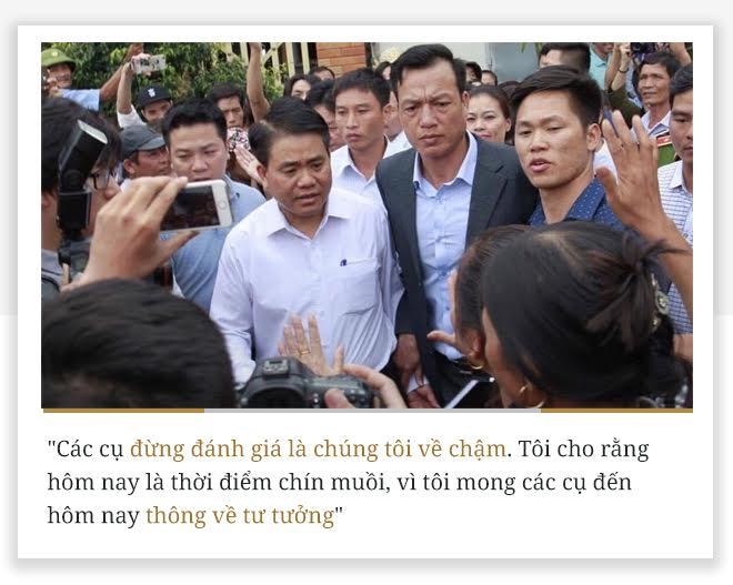 10 phát ngôn vụ Đồng Tâm của Chủ tịch HN Nguyễn Đức Chung - Ảnh 2.