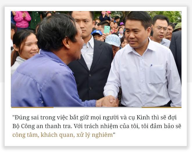 10 phát ngôn vụ Đồng Tâm của Chủ tịch HN Nguyễn Đức Chung - Ảnh 3.