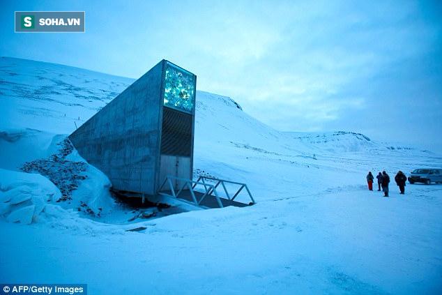 Căn hầm tận thế - nguồn dự trữ của cả thế giới đang gặp nạn vì băng tan - Ảnh 1.