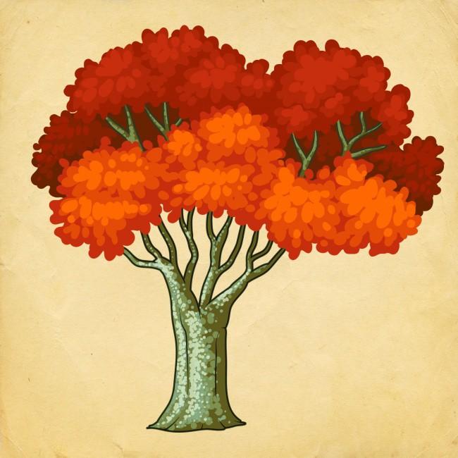 Bạn chọn cái cây nào? Điều đó sẽ tiết lộ vận may của bạn trong năm mới - Ảnh 4.