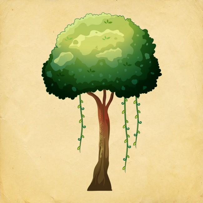 Bạn chọn cái cây nào? Điều đó sẽ tiết lộ vận may của bạn trong năm mới - Ảnh 10.