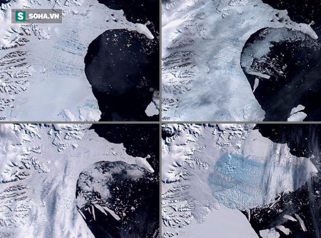 Tảng băng khổng lồ ở Nam Cực có nguy cơ nứt gãy, giới khoa học đứng ngồi không yên - Ảnh 1.
