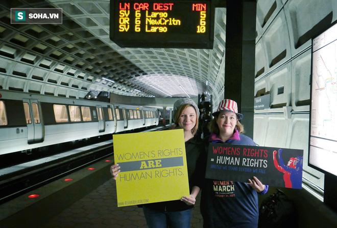 Từ Washington DC: Trump và phụ nữ - Ảnh 1.