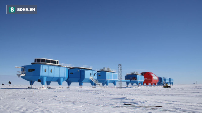 Băng Nam Cực nứt gãy bất thường lần 2, trạm nghiên cứu Anh sơ tán khẩn cấp - Ảnh 1.