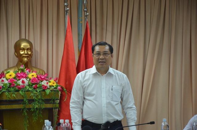 Bí thư Đà Nẵng trả lời cử tri về mức kỷ luật ông Huỳnh Đức Thơ - Ảnh 1.