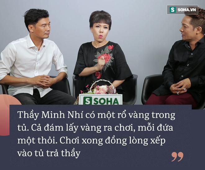 Việt Hương: Dọn nhà cho thầy Minh Nhí, thấy một rổ vàng, mỗi đứa một thỏi lấy ra chơi - Ảnh 3.