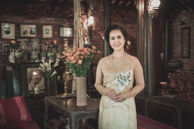 NSND Lan Hương làm người mẫu sau khi nghỉ hưu  - Ảnh 5.