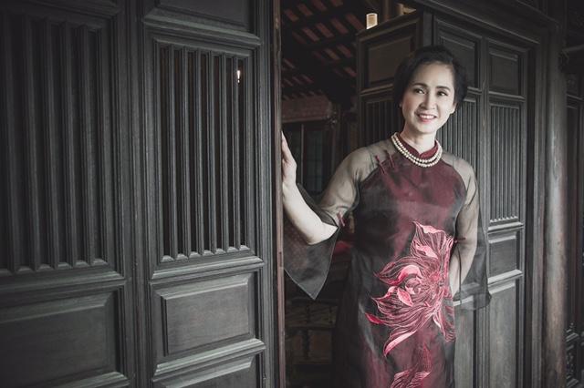 NSND Lan Hương làm người mẫu sau khi nghỉ hưu  - Ảnh 6.