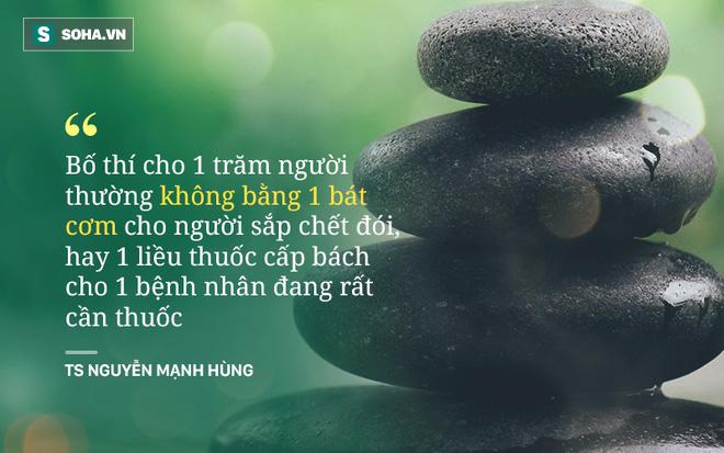 TS Nguyễn Mạnh Hùng: Ai bảo đức Phật không dạy làm giàu? Nhưng hãy thôi nghĩ đến việc làm giàu bằng cách vào chùa cầu xin! - Ảnh 2.