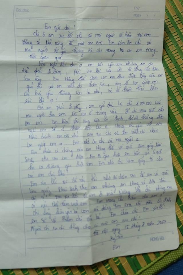Mẹ bỏ con gần 20 ngày tuổi cùng lá thư nhờ người khác nuôi giúp - Ảnh 2.