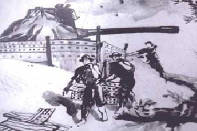 Xe tăng Việt Nam ẩn mình trong cát: Gió to thêm tý nữa, có khi sau một đêm lấp mất xe! - Ảnh 4.