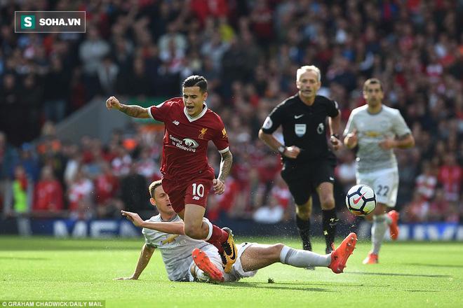 """Mourinho chỉ ra """"lỗ hổng chết người"""" của Man United, Klopp cay cú đổ lỗi cho trọng tài - Ảnh 1."""