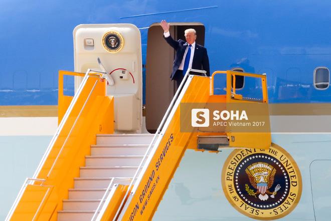 Toàn cảnh lễ đón Tổng thống Mỹ Donald Trump - Ảnh 5.