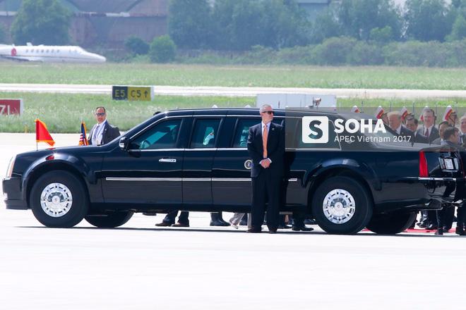Toàn cảnh lễ đón Tổng thống Mỹ Donald Trump - Ảnh 10.