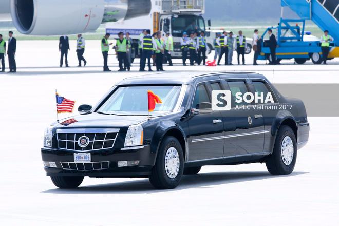 Toàn cảnh lễ đón Tổng thống Mỹ Donald Trump - Ảnh 11.
