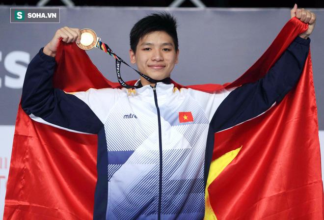 Chưa đấu, Ánh Viên đã biết Nguyễn Hữu Kim Sơn sẽ đoạt HCV - Ảnh 1.