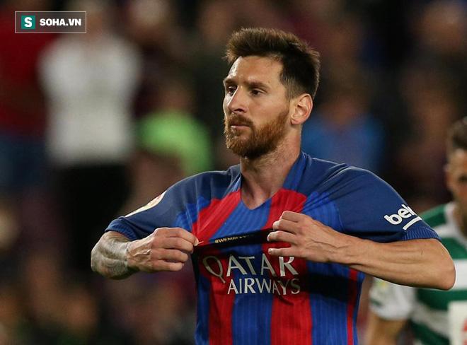 Messi lấp lửng nhắc đến chuyện sang Trung Quốc chơi bóng - Ảnh 1.