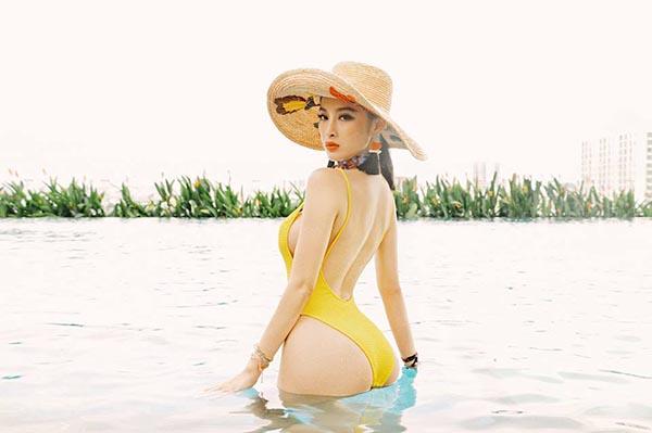 Angela Phương Trinh khoe thân hình nóng bỏng với bikini - Ảnh 2.