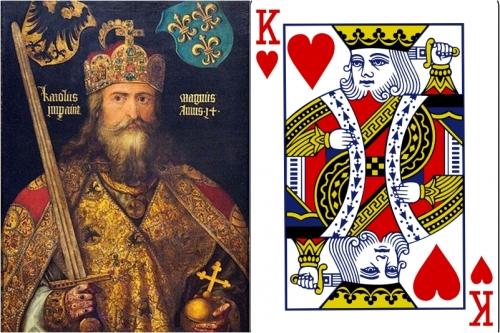 Bí ẩn thanh thần kiếm của vị vua duy nhất không có râu trong bộ bài Tây - Ảnh 1.