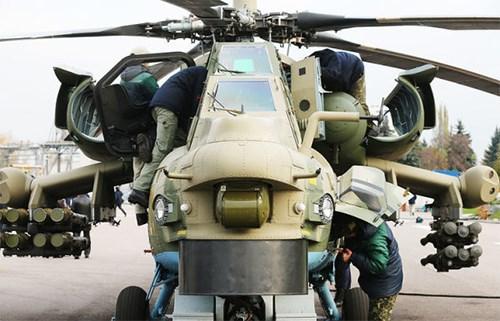 """""""Thợ săn đêm"""" nâng cấp Mi-28NM bắt đầu thử nghiệm từ cuối năm 2017 - Ảnh 1."""