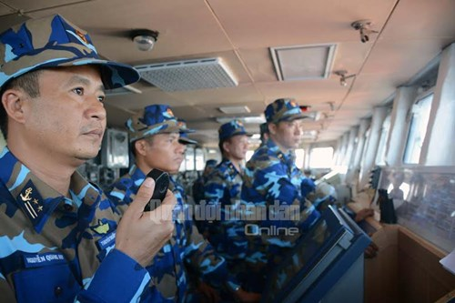 Tàu Hải quân Việt Nam tham gia diễn tập biển đa phương - Ảnh 1.
