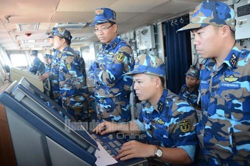 Tàu Hải quân Việt Nam tham gia diễn tập biển đa phương - Ảnh 2.