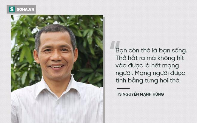 TS Nguyễn Mạnh Hùng: Rất nhiều người đang ngủ sai giờ. Họ không biết đường tới nghĩa địa dần ngắn lại - Ảnh 4.