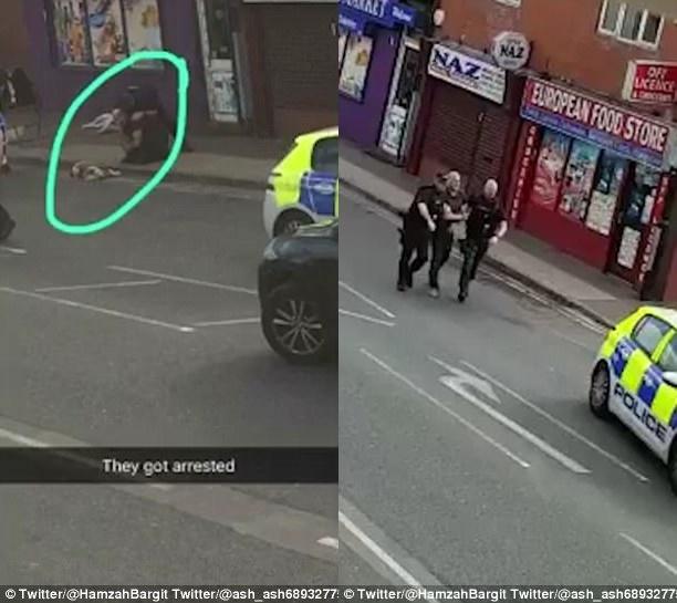 Điên cuồng tấn công trẻ nhỏ giữa trung tâm thành phố Anh, đàn chó bị cảnh sát vũ trang bắn chết - Ảnh 2.