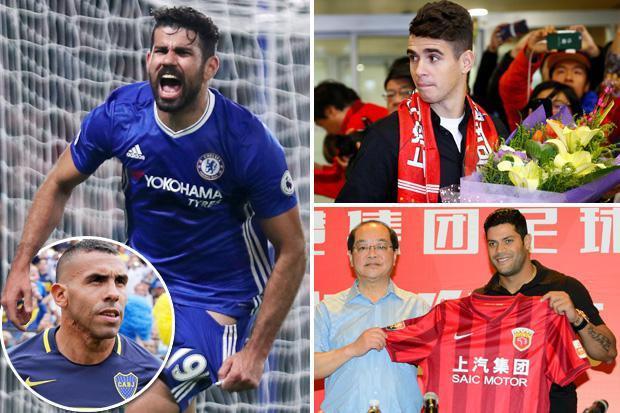 Diego Costa nhận lương cao nhất thế giới nếu sang Trung Quốc - Ảnh 1.