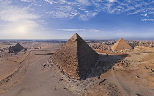 Chùm ảnh những địa danh đẹp nổi tiếng thế giới nhìn từ trên cao - Ảnh 2.