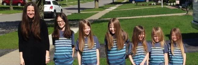 Dù bị bắt nạt, 6 anh em trai vẫn quyết định nuôi tóc dài vì lý do thực sự cảm động - Ảnh 1.