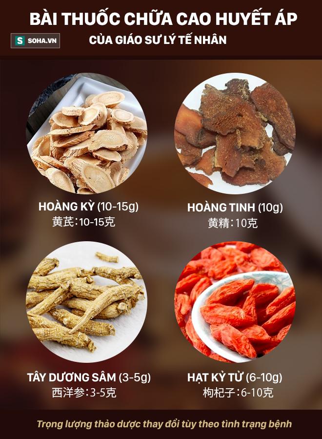 Bài thuốc chữa cao huyết áp, cao đường huyết được xem là mật phương của Trung Quốc - Ảnh 2.